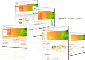 Web design + Content management system